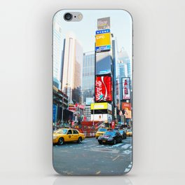 283. Amazing Time Square, New York iPhone Skin