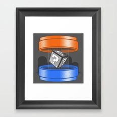 Thinking With Plungers Framed Art Print