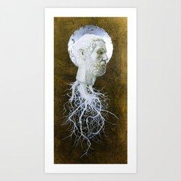 """The End of Reason"" Art Print"