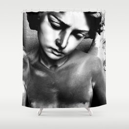 Staglieno IV Shower Curtain