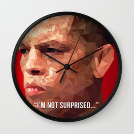 I'm Not Surprised - Nate Diaz Wall Clock