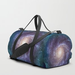 Pinwheel Galaxy Duffle Bag