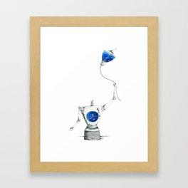 Mindless Framed Art Print