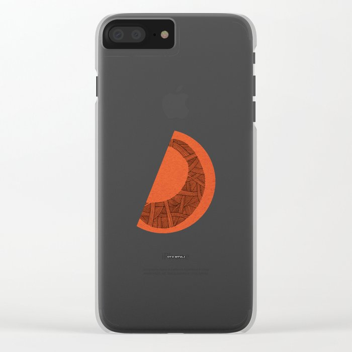 - from never for ever - Clear iPhone Case