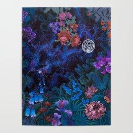 Space Garden Poster