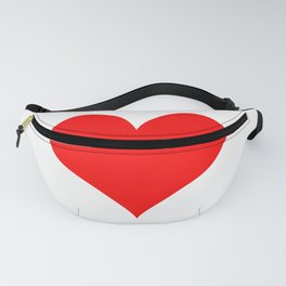 Classic Old Red Love Fanny Pack
