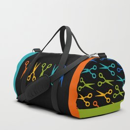 Rainbow Scissors Duffle Bag