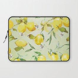 Watercolor lemons 7 Laptop Sleeve