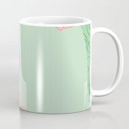 Abstract roses frame Coffee Mug