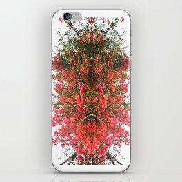 Mirrored Trees 7 iPhone Skin