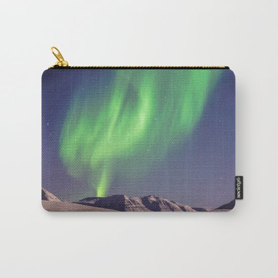 The Northern Lights (Aurora Borealis) Carry-All Pouch