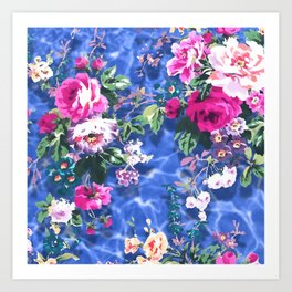 Bouquets with roses 4 Art Print