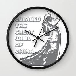 Great Wall of China I Was There China 2019 Gift Wall Clock