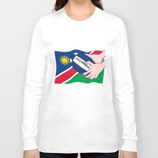 Rugby Namibia Long Sleeve T-shirt