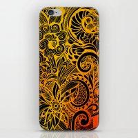 hakuna iPhone & iPod Skins featuring Hakuna Matata by Doodle Design