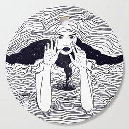 soul waves Cutting Board