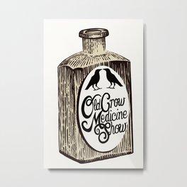 Old Crow Medicine Show Tonic Metal Print