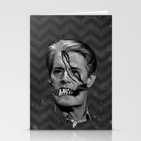 dale cooper Stationery Cards featuring COOPER SOUL by UNDEAD MISTER / MRCLV