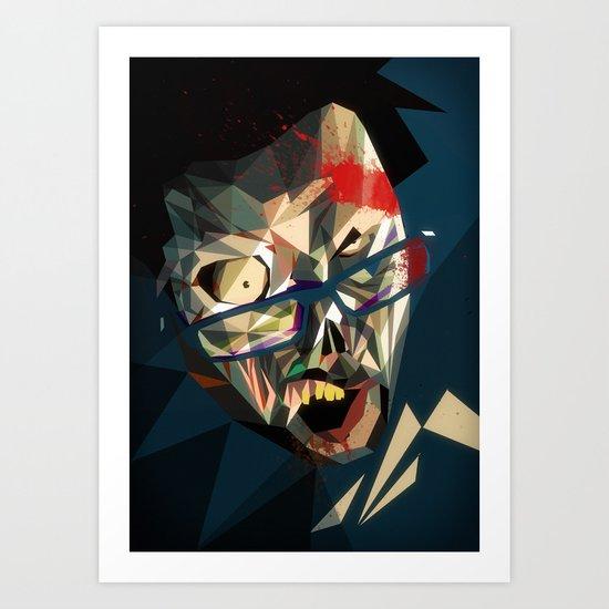 Zombme Art Print