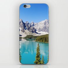 Moraine Lake in Alberta, Canada iPhone & iPod Skin