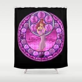 Awakening in Olympus Shower Curtain