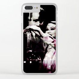 Lab Work Clear iPhone Case