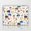 Tropical Fish on White - pattern by hazelfishercreations