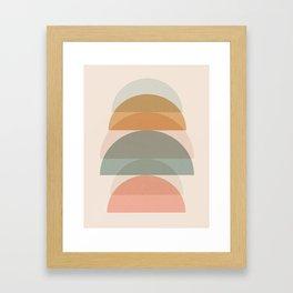Geometric 01 Framed Art Print