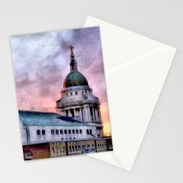 Old Bailey in London Stationery Cards