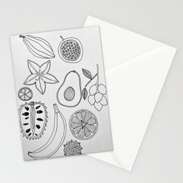 Puerto Rican Fruit Stationery Cards