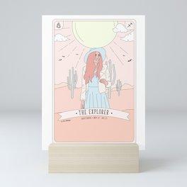 Sagittarius  - The Explorer Mini Art Print