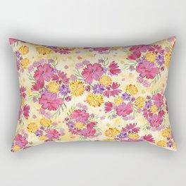 Autumn Floral Bouquet Rectangular Pillow