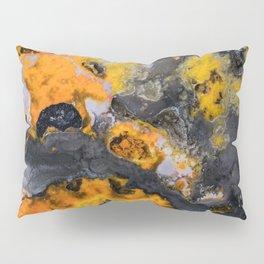 Earth treasures - patters of yellow and orange jaspis Pillow Sham