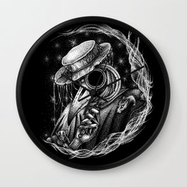 The Plaque Doctor Wall Clock