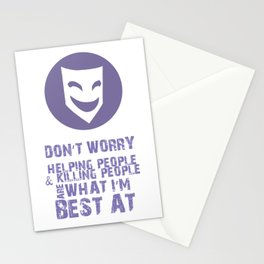 What I'm Best At V2 Stationery Cards