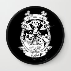 All you need is dog #1 Wall Clock