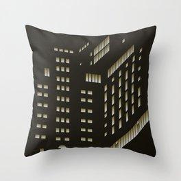 Ohlerich Speicher bei Nacht Throw Pillow