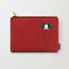 Pocket Boston Terrier Carry-All Pouch