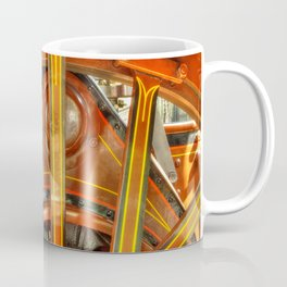 Steam Traction Engine Wheel Coffee Mug
