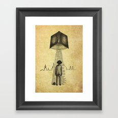 Take Me To Your Reader Framed Art Print