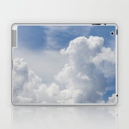 Fluffy Puffy Clouds in the Florida Sky Laptop & iPad Skin
