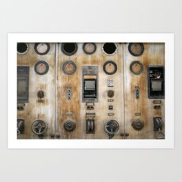 Captain Nemo Art Print
