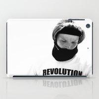 revolution iPad Cases featuring rEVOLution by blumwurks