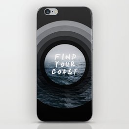 Find Your Coast iPhone Skin