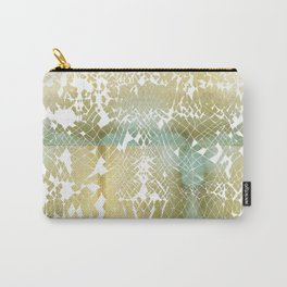 Fractured Gold Carry-All Pouch