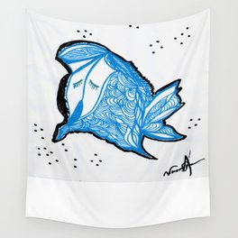 BubbleFish Wall Tapestry