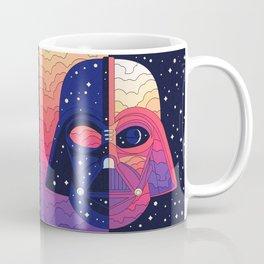 """The Dark & The Light - Darth Vader"" by Berlin Michelle Coffee Mug"
