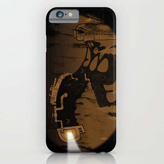 oil monster iPhone & iPod Case