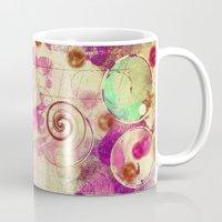 bubblegum Mugs featuring Bubblegum by SensualPatterns