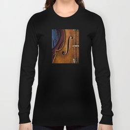 Violin Composition Long Sleeve T-shirt